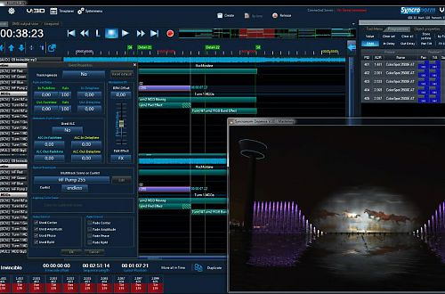 Create stunning show designs with realtime simulation