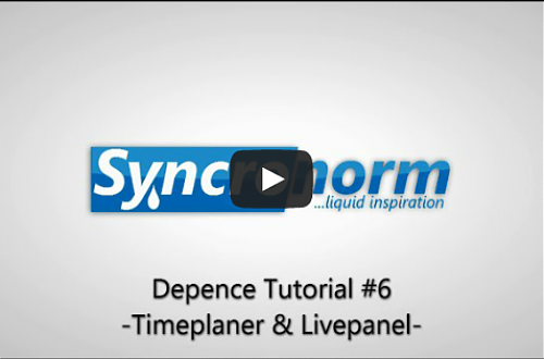 Depence Tutorial 6 Timeplaner and Live Panel